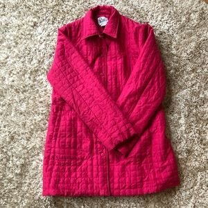 Lily Pulitzer Quilted Jacket - Pink Size Large